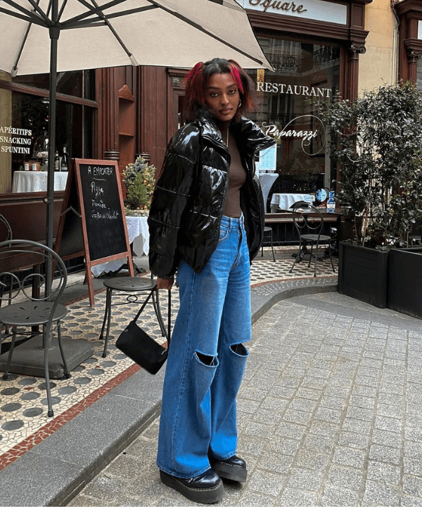 Nawell - Street Style - wide leg - Inverno  - Steal the Look  - https://stealthelook.com.br