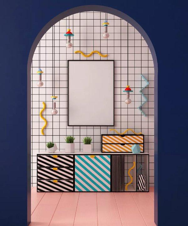 My Domaine - 2021 - Memphis - tendência - decor - https://stealthelook.com.br