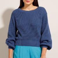 suéter de tricô \