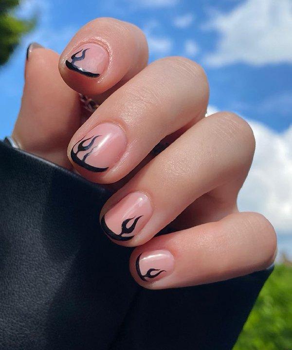 nail art - nail art - unha francesinha - inverno - brasil - https://stealthelook.com.br