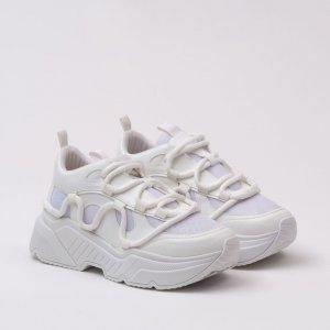 Tênis Estilo Chunky - Branco/Branco Tênis Estilo Chunky - 39