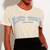 t-shirt de algodão \