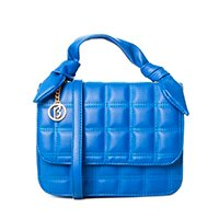 Bolsa matelassê alça de lenço fake 10908995 - Azul