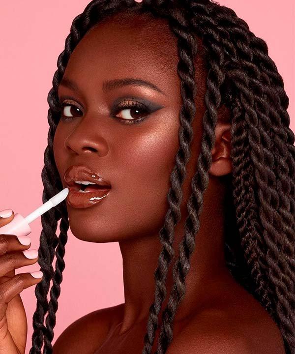 Kylie Cosmetics - maquiagem - lip tint - inverno  - brasil - https://stealthelook.com.br