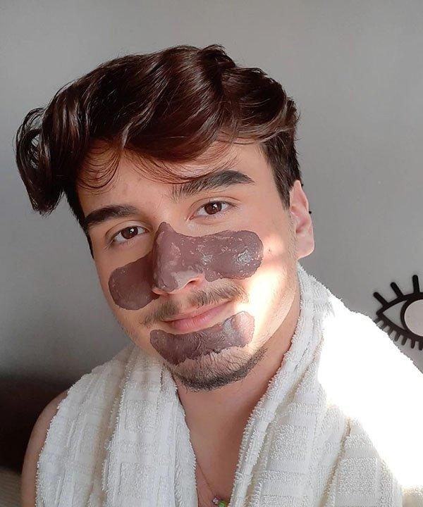 Léo - skincare - beleza sem gênero - skincare para homens - pele oleosa - https://stealthelook.com.br