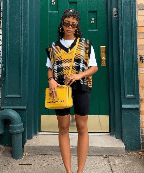Alana Figueroa | @w00zgod - Street Style - bermuda ciclista - Verão - Steal the Look  - https://stealthelook.com.br