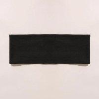 faixa de cabelo esportiva ace preta - único