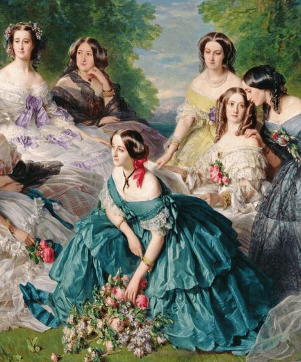 Eugênia de Montijo - Vestido - Tiffany & Co - Primavera - Steal the Look  - https://stealthelook.com.br