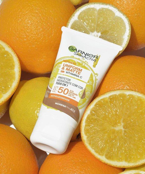 Garnier  - protetor solar fps 50  - lançamentos de beleza  - pele matte  - protetor solar com cor  - https://stealthelook.com.br