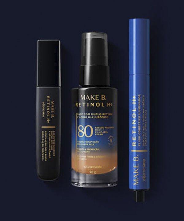 Make B retinol  - base para pele negra  - lançamentos de beleza  - protetor com cor  - base com proteção solar  - https://stealthelook.com.br