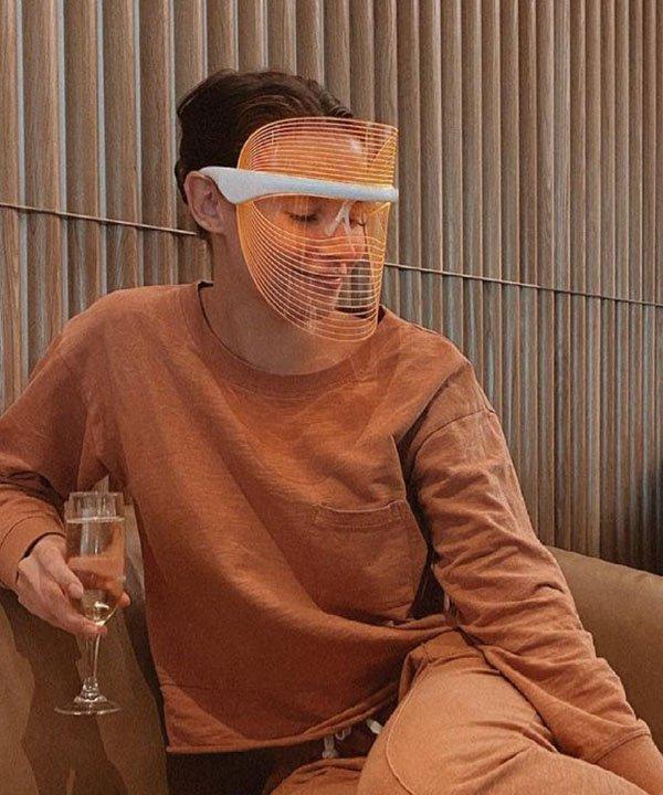 led mask  - beauty tools  - tipos de máscaras faciais  - máscaras faciais - máscara de led  - https://stealthelook.com.br