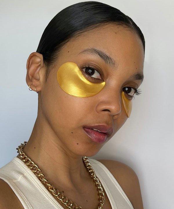 Jonellethe Alert  - eye patches - tipos de máscaras faciais - skin gym  - máscara para os olhos  - https://stealthelook.com.br