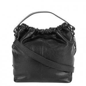 Bolsa Couro Shoestock Soft Feminina - Feminino - Preto