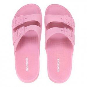 Chinelo Shoestock Color Fivelas - Feminino - Rosa