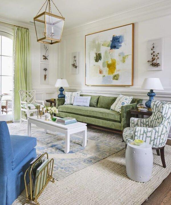 Southern Living - 2021 - tendências de decoração - decor - verde e azul - https://stealthelook.com.br