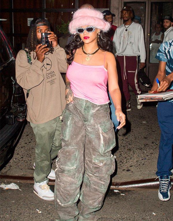Rihanna - tendências de moda - tendências de moda - Inverno - Street Style - https://stealthelook.com.br