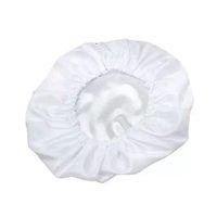 Touca De Cetim Seda Branco Anti Frizz Para Dormir - Confecções Elba