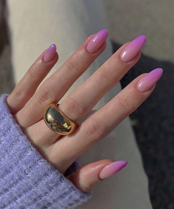 unhas baby boomer  - nail art colorida  - tendência de unhas  - francesinha colorida  - unhas decoradas  - https://stealthelook.com.br