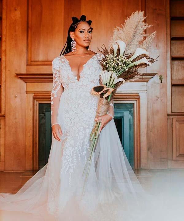 Rosco Spears - casamento - vestido de noiva com manga longa - inverno  - brasil - https://stealthelook.com.br