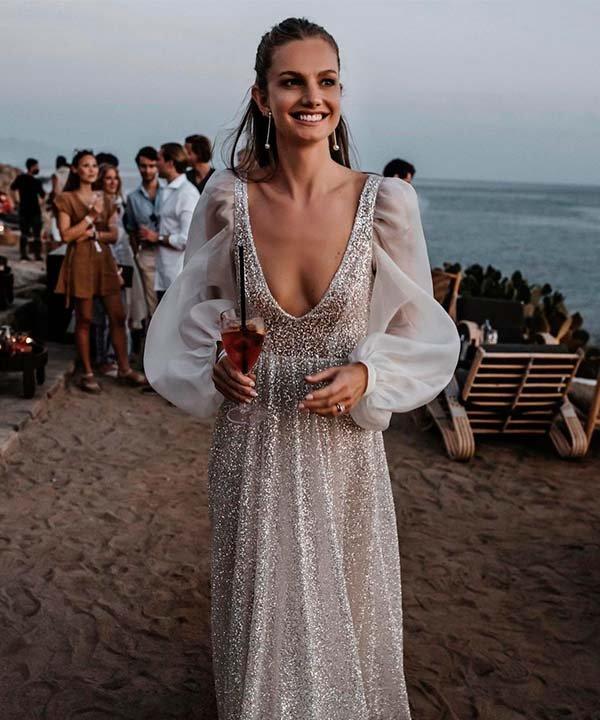 Sabina Nilsson - casamento - vestido de noiva com manga longa - inverno  - brasil - https://stealthelook.com.br
