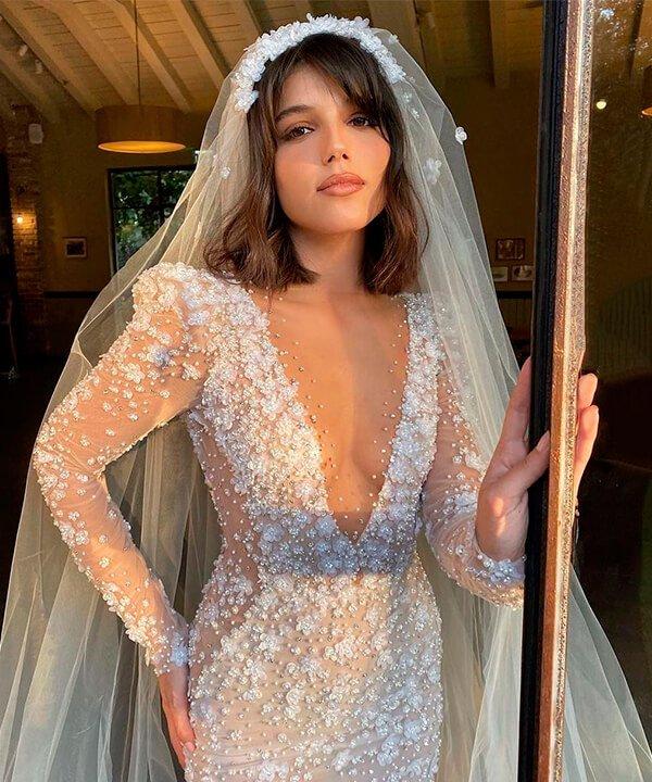 Odel Balilti - noiva - véu de noiva - inverno  - brasil - https://stealthelook.com.br