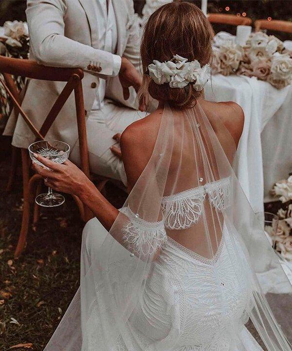 Brooke Couch - noiva - véu de noiva - inverno  - brasil - https://stealthelook.com.br