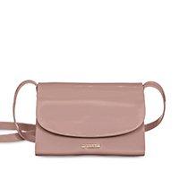 Bolsa Petite Jolie Mini Bag Alicia Feminina - Marrom Claro