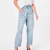 Calça Jeans Tvz Baggy Feminino - Jeans