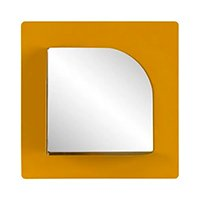 ARC-ALLY ESPELHO 35 CM X 35 CM COM PRATELEIRA