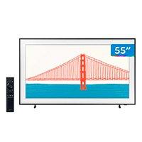 """Smart TV 55"""" 4K QLED Samsung The Frame 55LS03A - Wi-Fi Bluetooth HDR 4 HDMI 2 USB Única Conexão"""