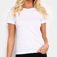 Camiseta Hering Básica Feminina - Branco