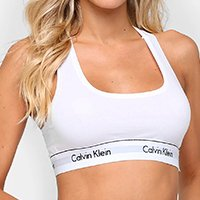 Top Calvin Klein Sem Bojo - Branco