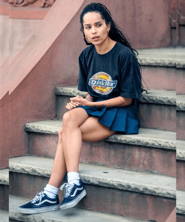 Zoë Kravitz - Street Style - looks de celebridades - Verão - Steal the Look  - https://stealthelook.com.br