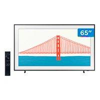 """Smart TV 65"""" 4K QLED Samsung The Frame 65LS03A - Wi-Fi Bluetooth HDR 4 HDMI 2 USB Única Conexão"""