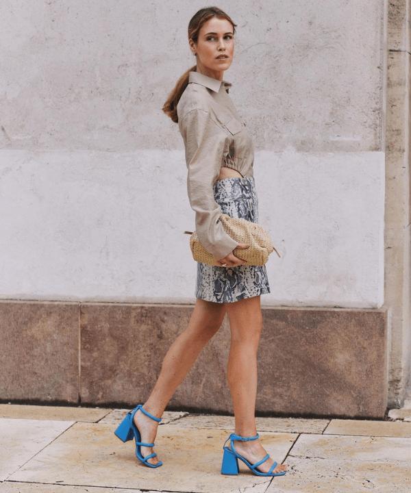 Annabel Rosendahl - Street Style - looks com sandálias coloridas - Verão - Steal the Look  - https://stealthelook.com.br