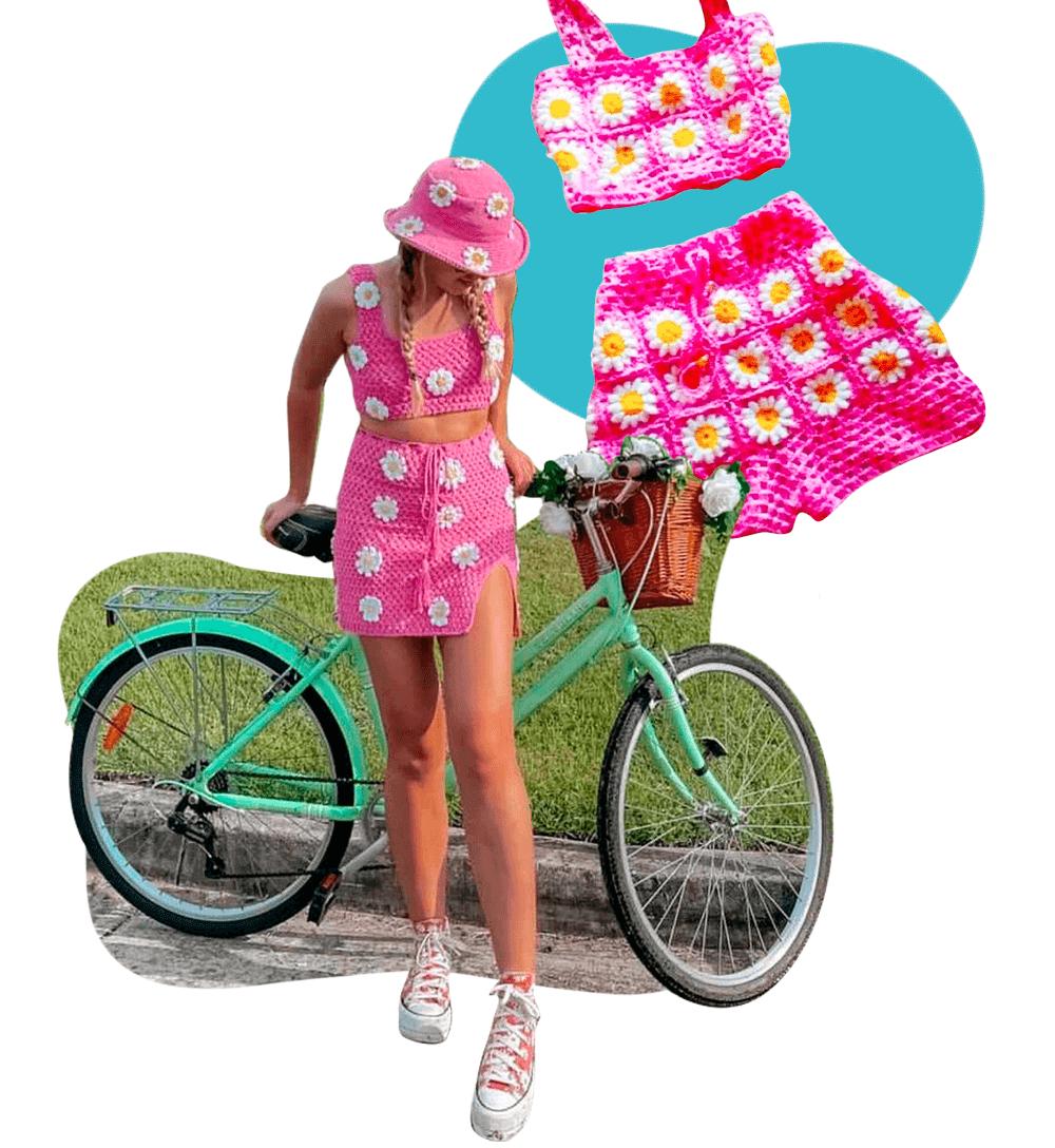 @molnich - Crochê - tendências de verão - Verão - Steal the Look  - https://stealthelook.com.br