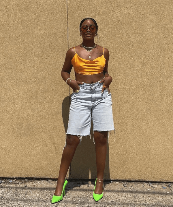 Avry - Street Style - looks com cropped - Verão - Steal the Look  - https://stealthelook.com.br