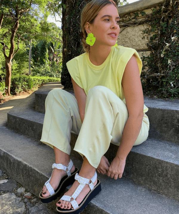 Nathalia Medeiros - Casual - marca de sapatos - Verão - Steal the Look  - https://stealthelook.com.br