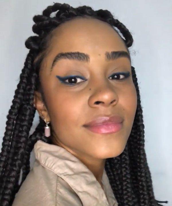 Inaê Ribeiro - delineador para iniciantes - delineador colorido - maquiagens coloridas - maquiagem - https://stealthelook.com.br