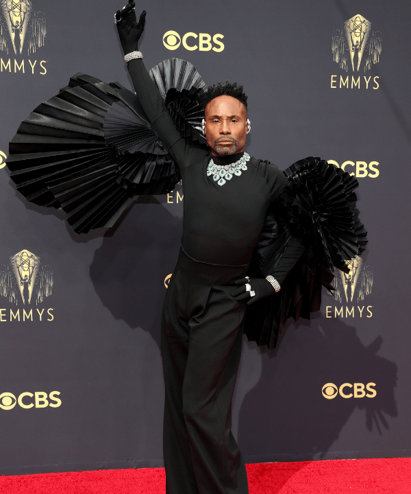 Billy Porter - Tapete vermelho - Emmy Awards 2021 - Verão - Los Angeles - https://stealthelook.com.br