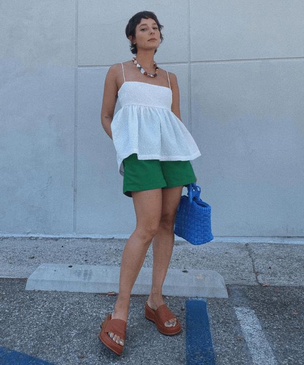 Alyssa Coscarelli - Casual - cor tendência - Verão - Steal the Look  - https://stealthelook.com.br