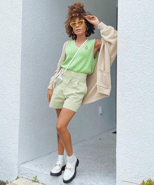 Kia Marie | @thenotoriouskia - Street Style - cor tendência - Primavera - Steal the Look  - https://stealthelook.com.br