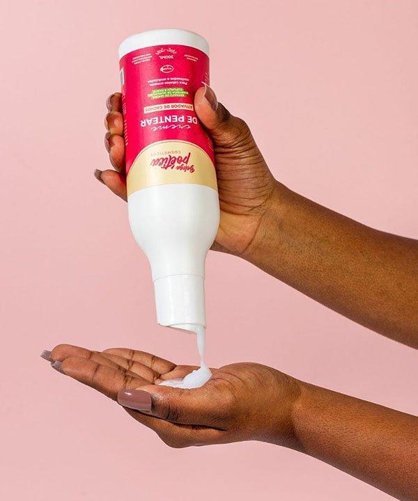 Beleza poética - cabelo natural - marcas de cosméticos veganos  - produtos para cabelos naturais  - creme de pentear  - https://stealthelook.com.br
