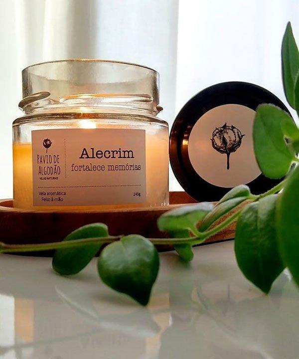 Pavio de algodão  - marcas veganas  - marcas de cosméticos veganos  - produtos artesanais  - velas artesanais veganas  - https://stealthelook.com.br