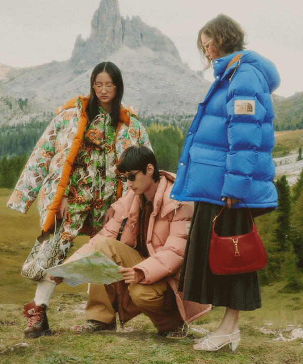 Gucci x The North Face - Gorpcore - Gorpcore - Inverno  - Steal the Look  - https://stealthelook.com.br