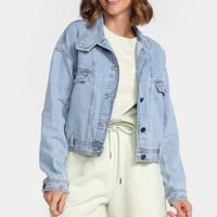 Jaqueta Jeans Colcci Lisa Feminina - Azul