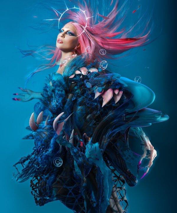 Lady Gaga - Chromatica - Pabllo Vittar - remix - Dawn of Chromatica - https://stealthelook.com.br