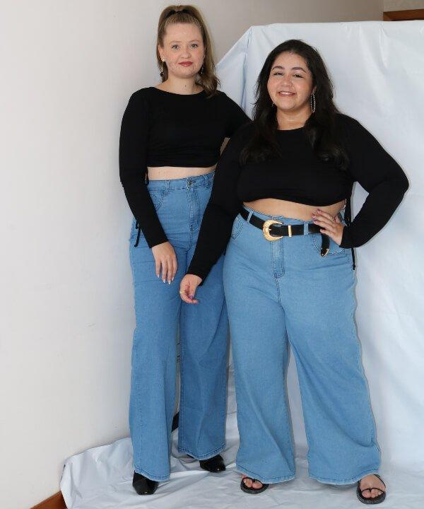 Layla Brígido - 2022 - lojas plus size - wide leg - Keren Paiva - https://stealthelook.com.br