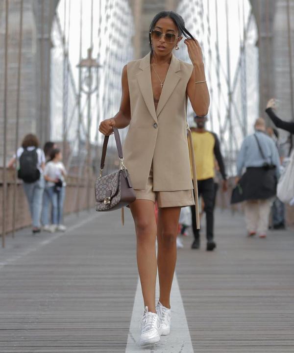Tayla Santos - Casual - colete de alfaiataria - Verão - Steal the Look - https://stealthelook.com.br