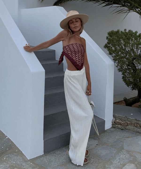 Sofia Coelho - Casual - calça pantalona - Verão - Steal the Look  - https://stealthelook.com.br